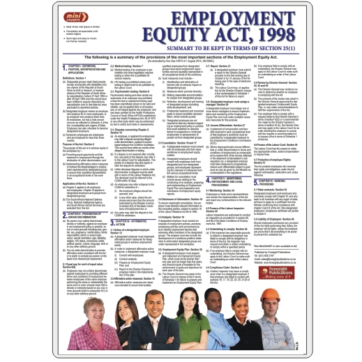 MiniCHART - Employment Equity Act Summary